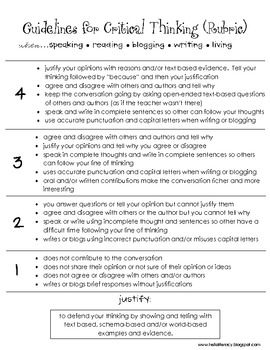 Critical thinking worksheets for 5th grade