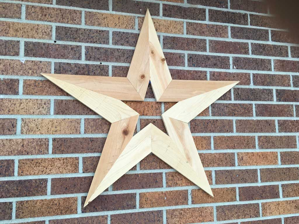 How To Make A Diy Wooden Star Decoration For Your Wall Handcrafted By Jason Cooper Wooden Stars Star Decorations Wooden Diy