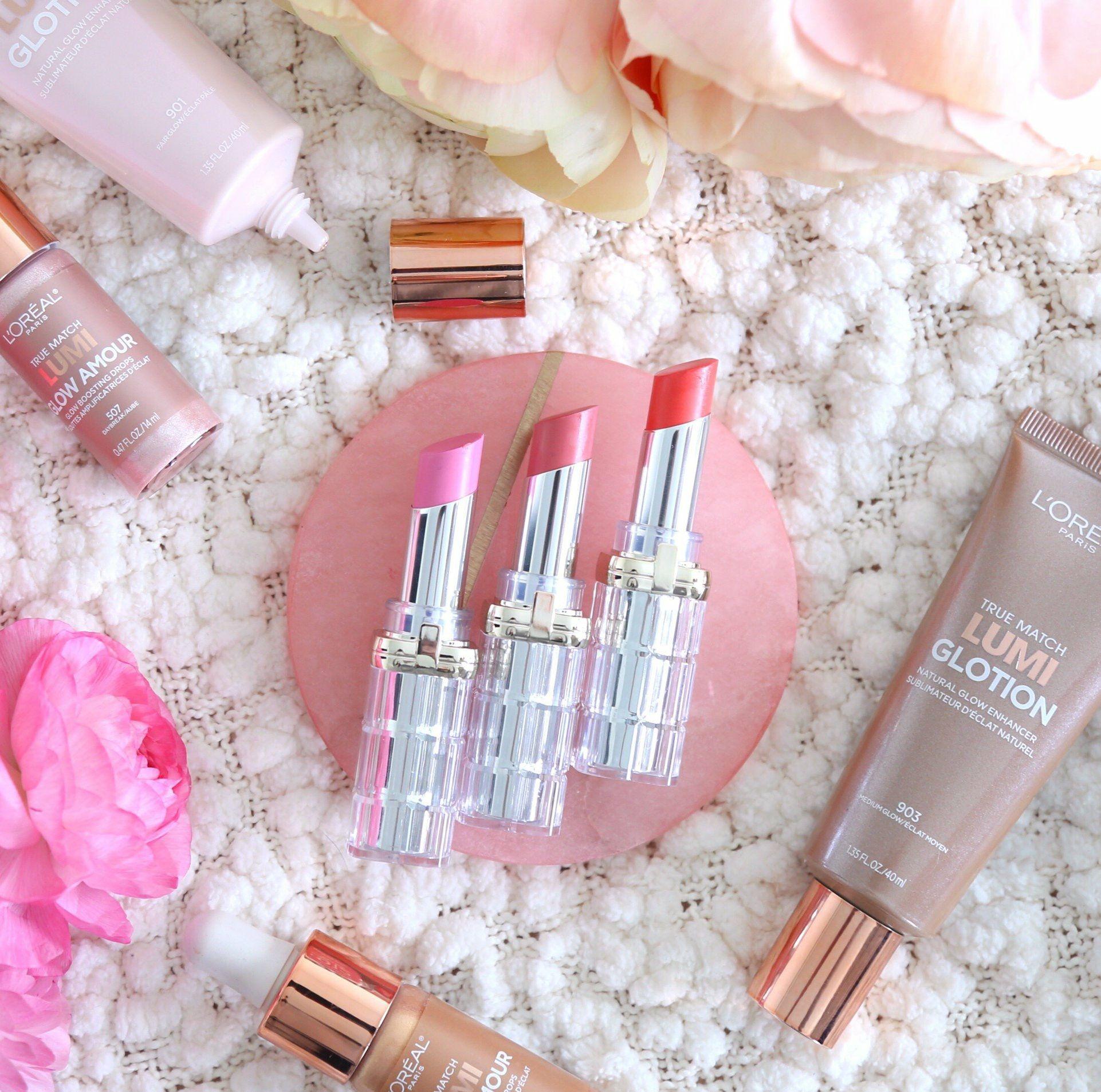 L'Oréal Paris Colour Riche Shine Lipstick, Glotion and