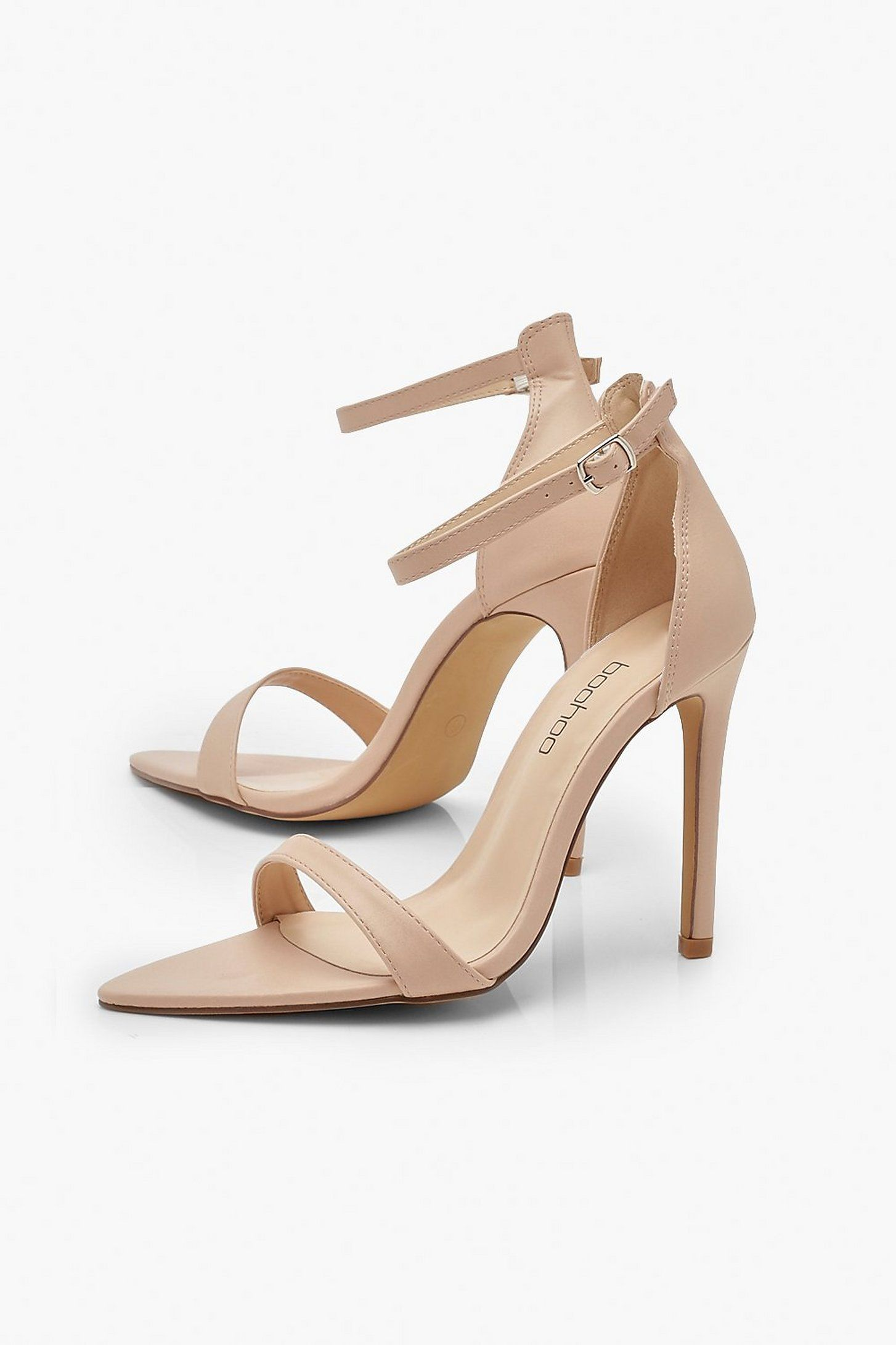 Pointed Toe 2 Parts Heels Boohoo In 2020 Heels Pointed Toe Shoes Highest Heel Collection