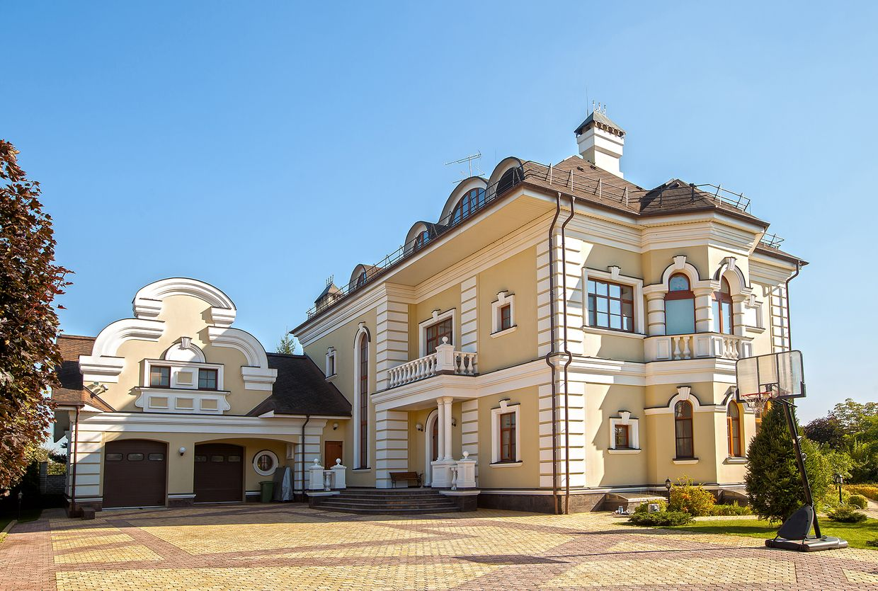 Luxury real estate in Moscow Region Russia - The house in the