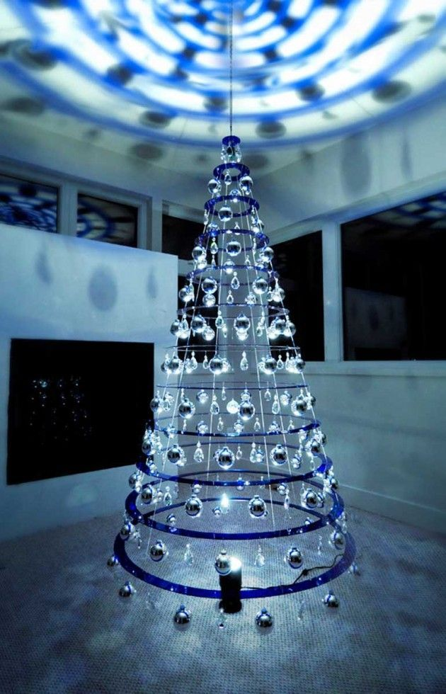 Holiday Tree Sculptures Creative Christmas Trees Alternative Christmas Tree Modern Christmas
