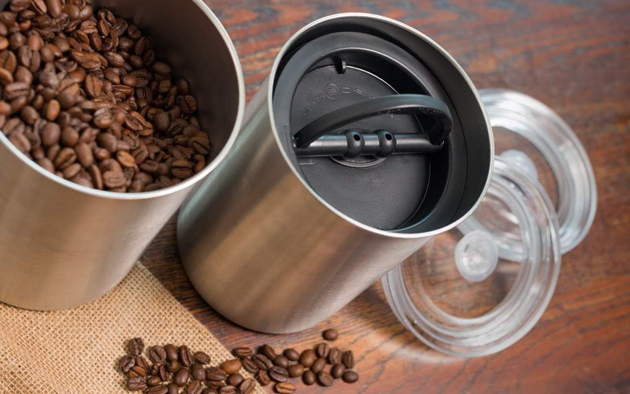 how to store ground coffee beans