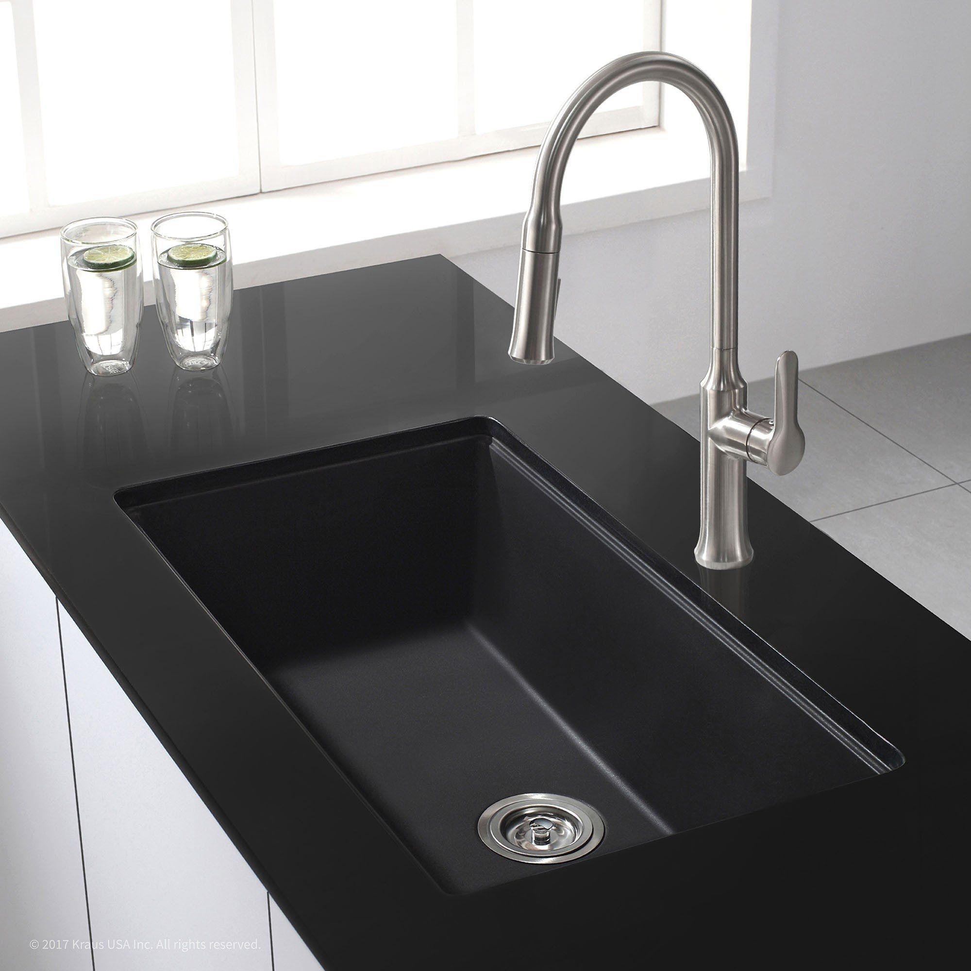 How Do You Clean A Black Granite Kitchen Sink Granite Kitchen