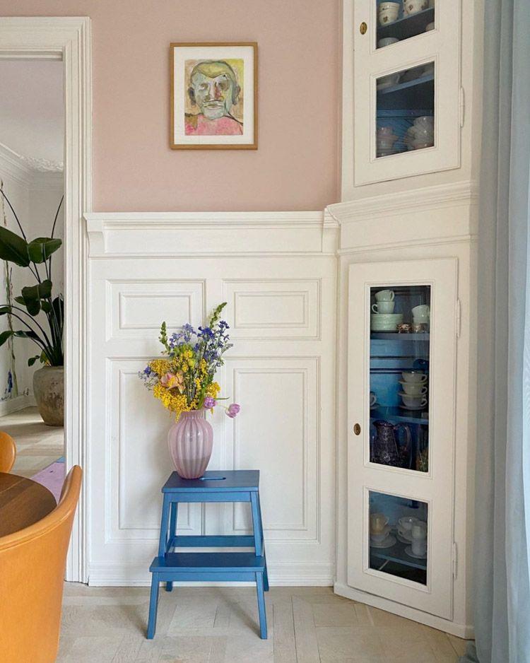 Photo of Et fantastisk dansk hjem i en mengde farger!