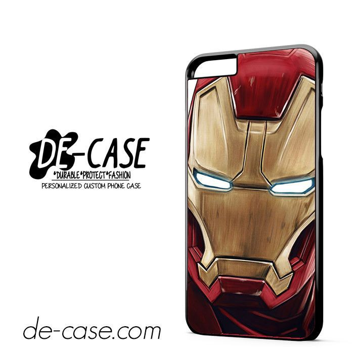 Ironman Cartoon Face DEAL-5683 Apple Phonecase Cover For Iphone 6/ 6S Plus