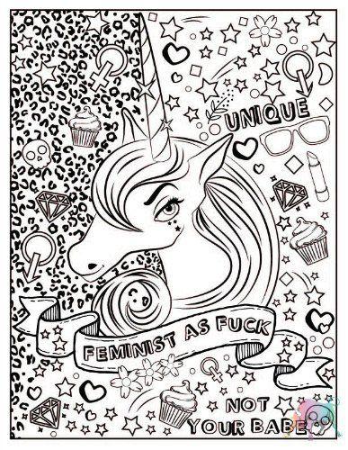 Get Bullish Feminist Coloring Book: Amy E. Casey, Eve ...