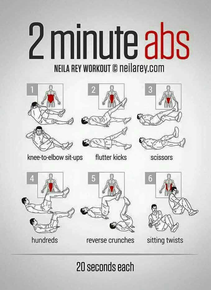 2 mins for your abs   Health and Fitness   Workout, Ab workout men