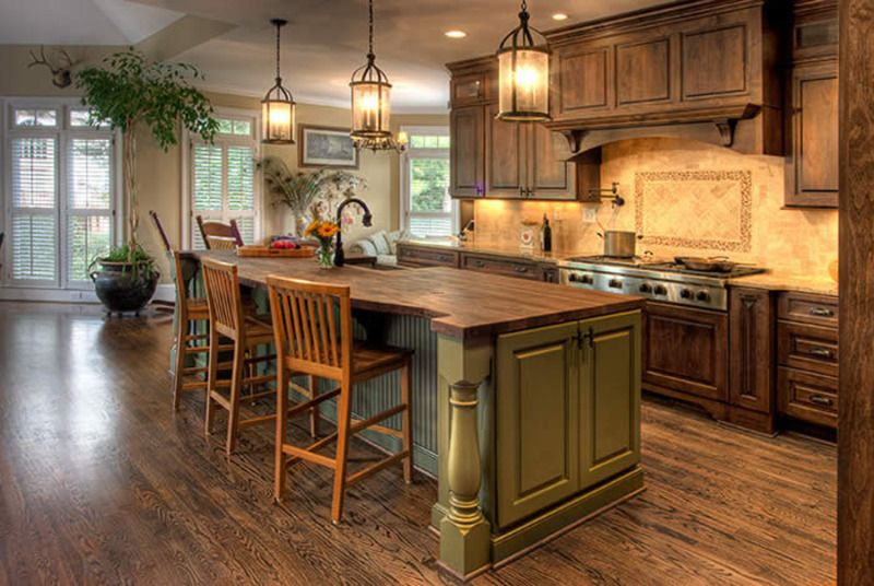 Elegance French Country Kitchen Home Interior Decorating Ideas 5