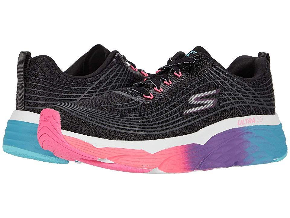 Skechers Max Cushioning Elite Prism Women S Running Shoes Black