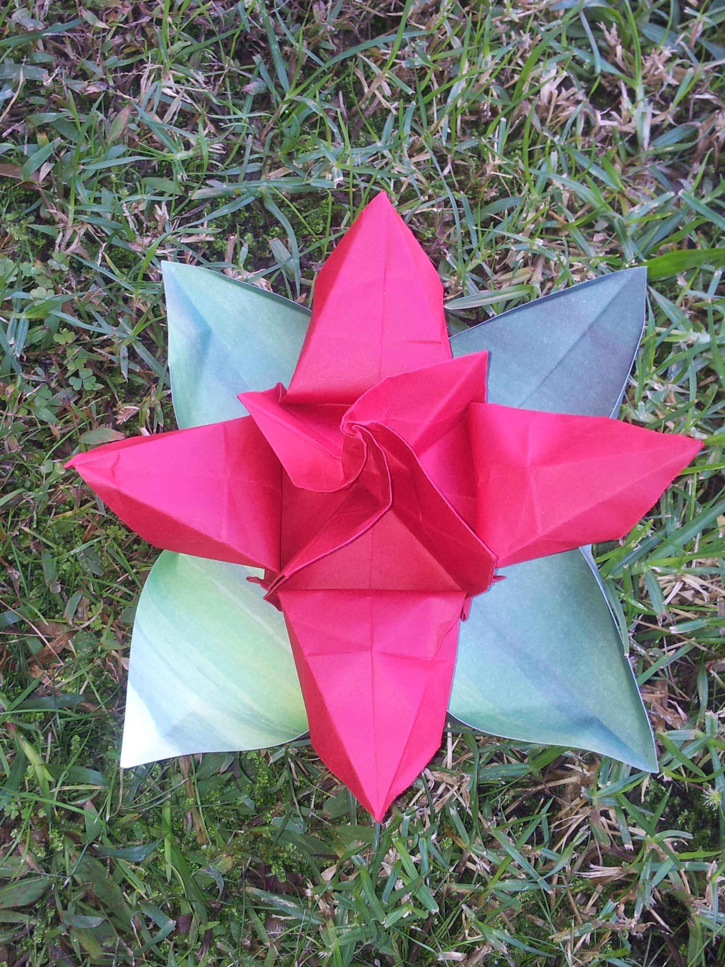 Origami Box Rose. -Florigami By Amy | origami flowers ... - photo#25