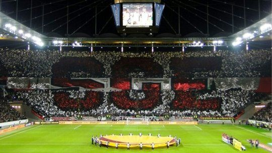 eintracht frankfurt maccabi tel aviv soccer ultras tifos pinterest frankfurt europa. Black Bedroom Furniture Sets. Home Design Ideas