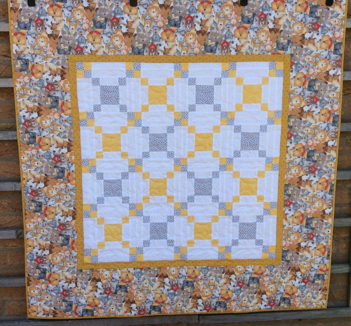 Irish chain dog quilt boy or girl star quiltdern quilt handmade dog quilt boy quilt girl quiltish chain quilt home decor negle Choice Image