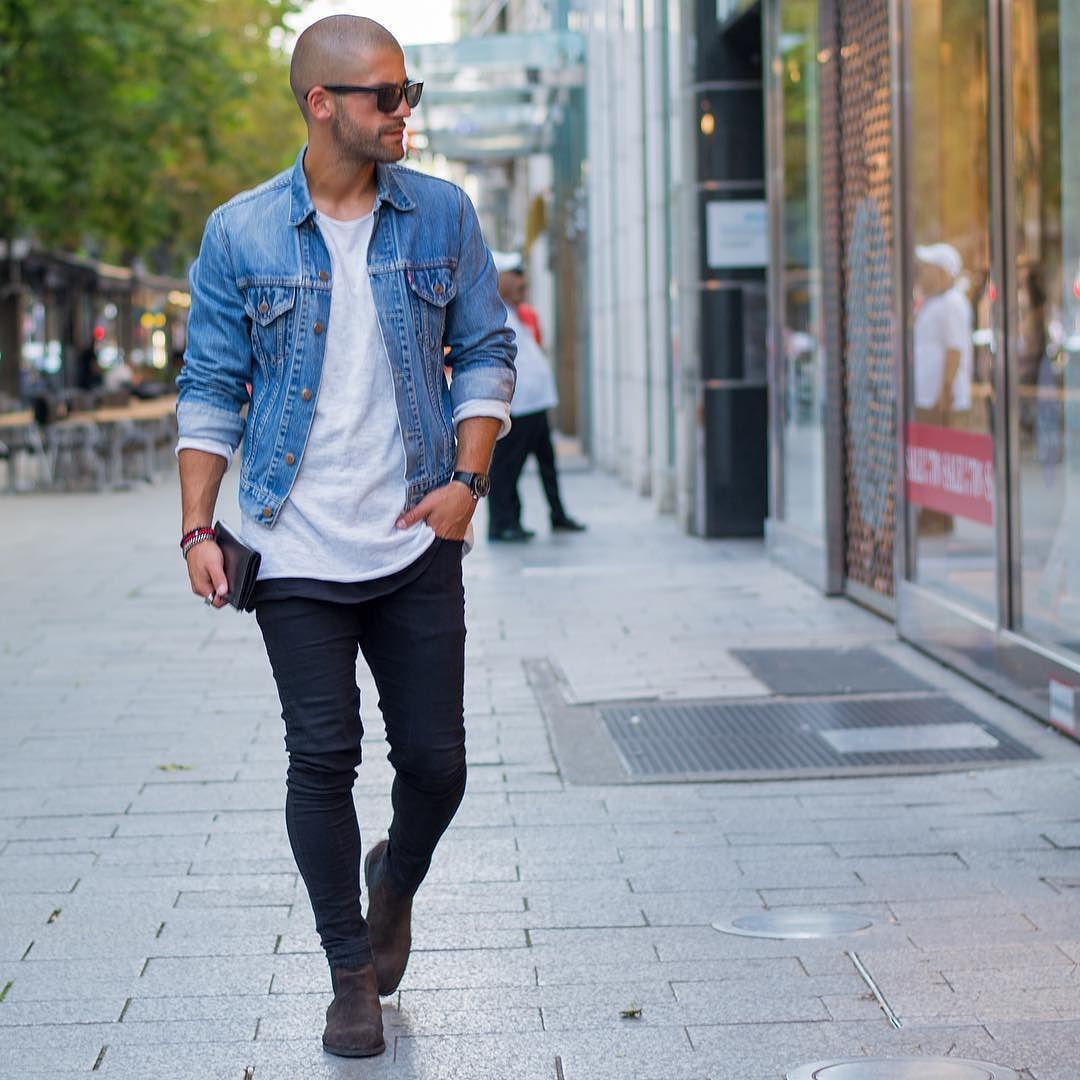 Profanenyc Bald Men Style Mens Fashion Inspiration Mens Street Style