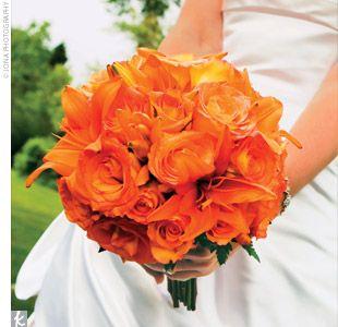 Color Harmonies: Monochromatic | Orange roses, Orange flowers and ...