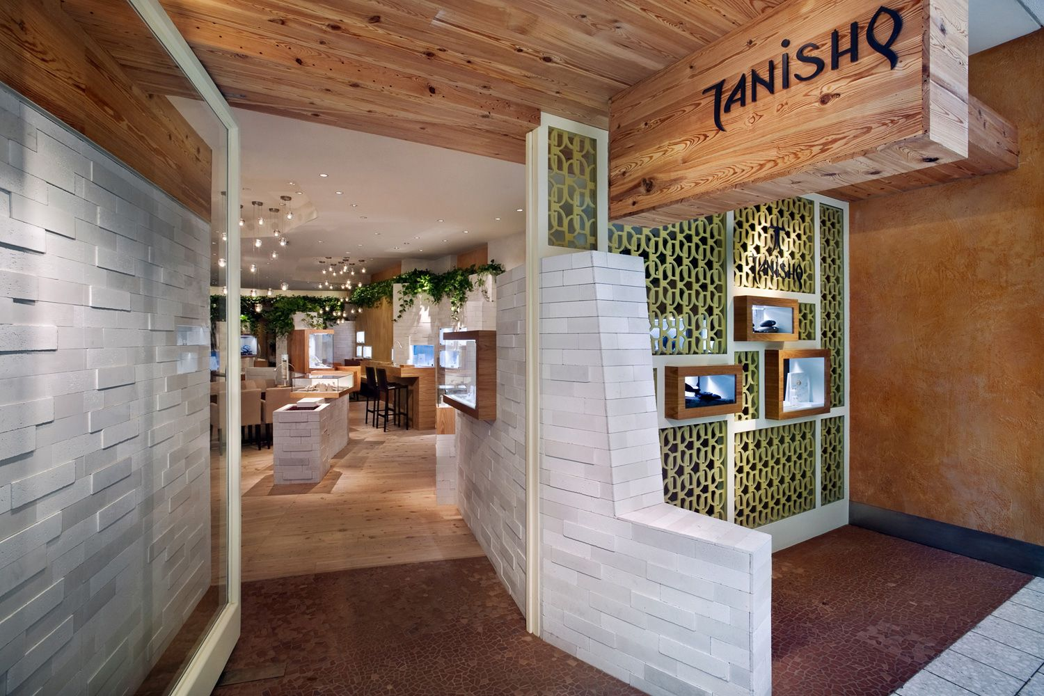 Tanishq jewelry store entrance in chicago il