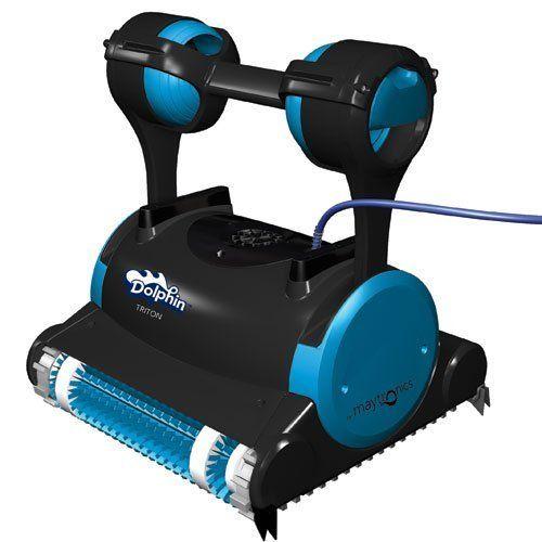 Best Pool Vacuum Cleaner Reviews: Dolphin 99996356 Triton Robotic ...