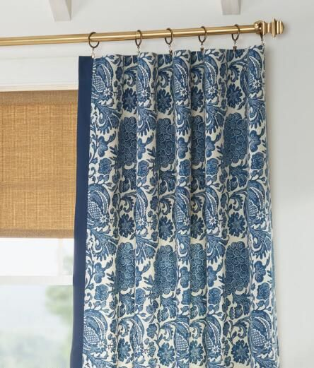 Royal Batik Lined Rod Pocket Curtains Country Curtains