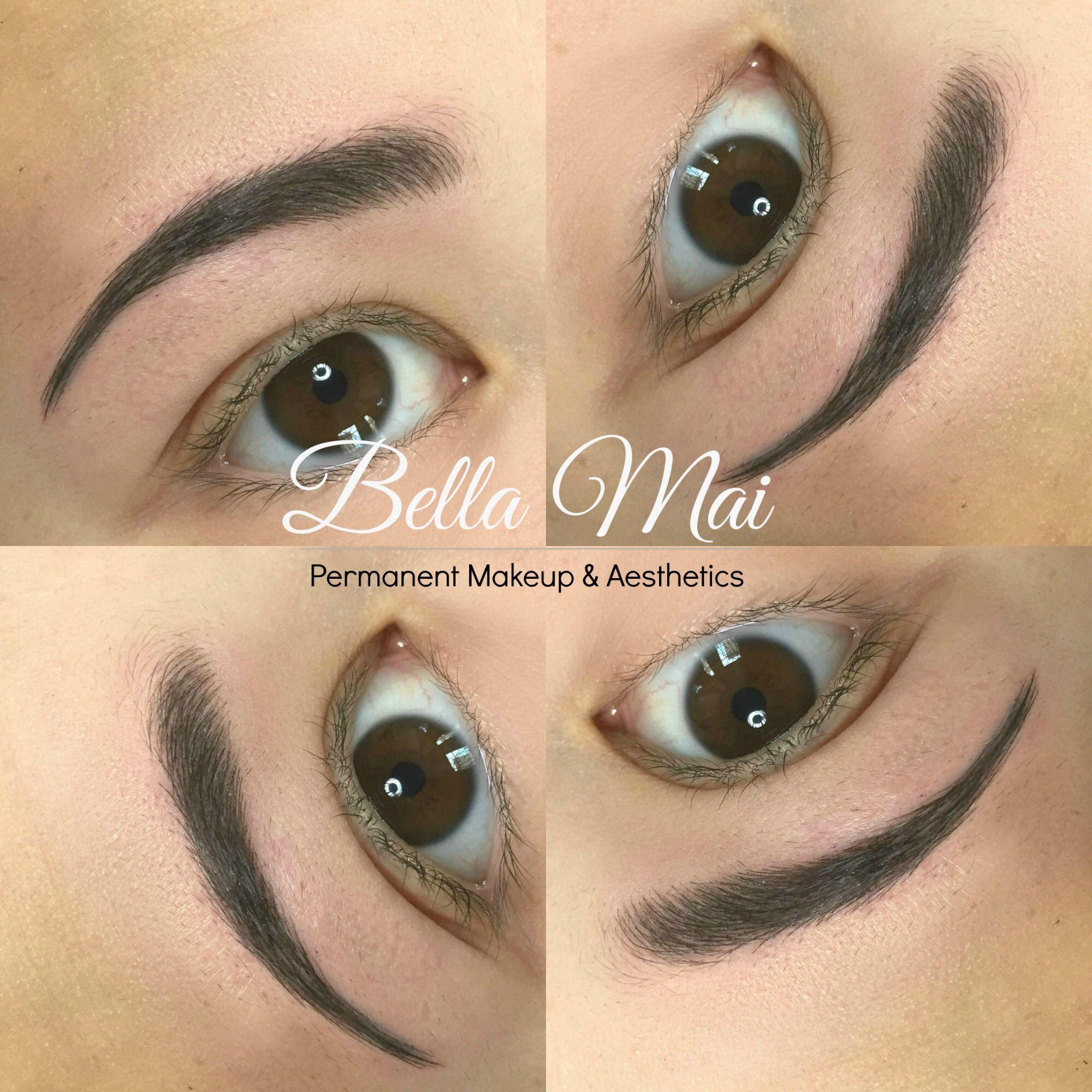 Eyebrow Microblading (With images) Eyebrow makeup