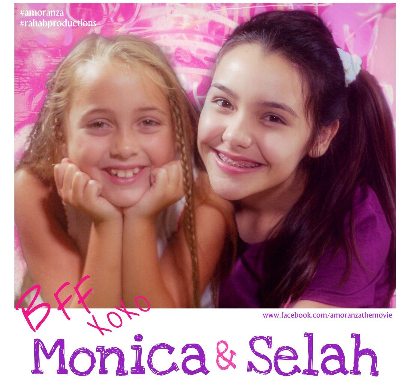 Ryan App as Monica  Celine Borroto Alvarez as Young Selah