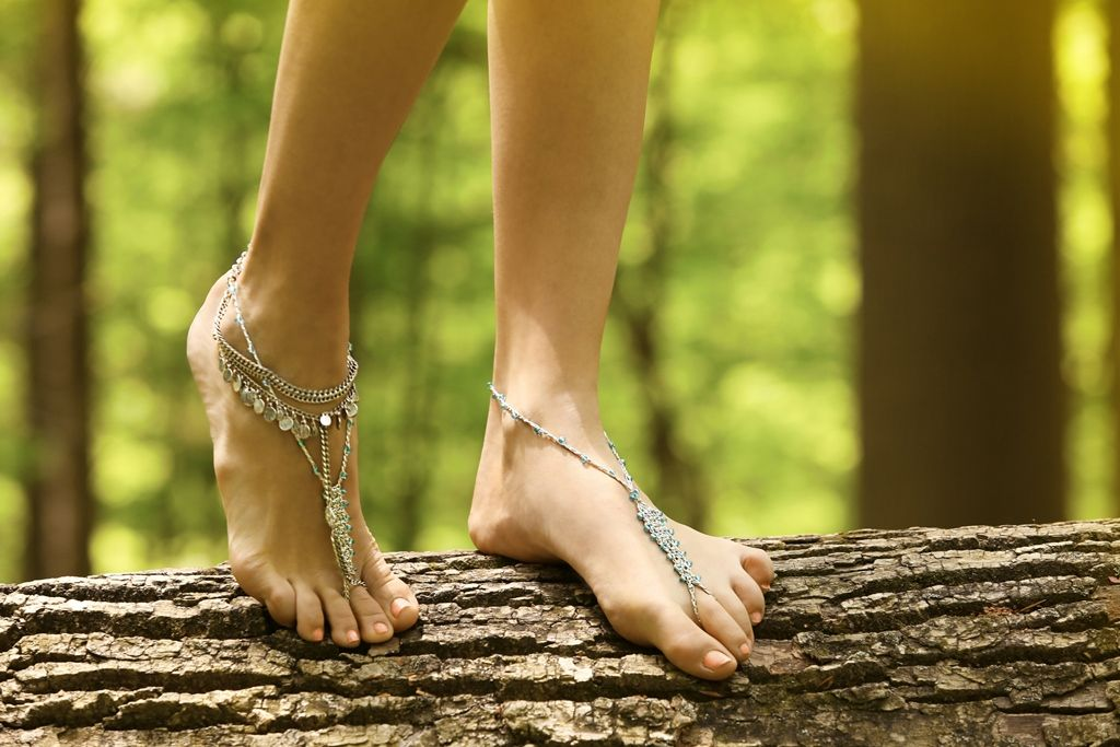 Free People Crochet & Bead Anklets