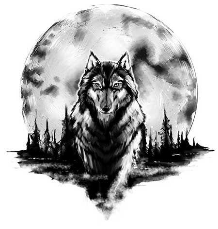 Tatuagens De Lobos Na Perna Em 3d Significados Mais Lobo