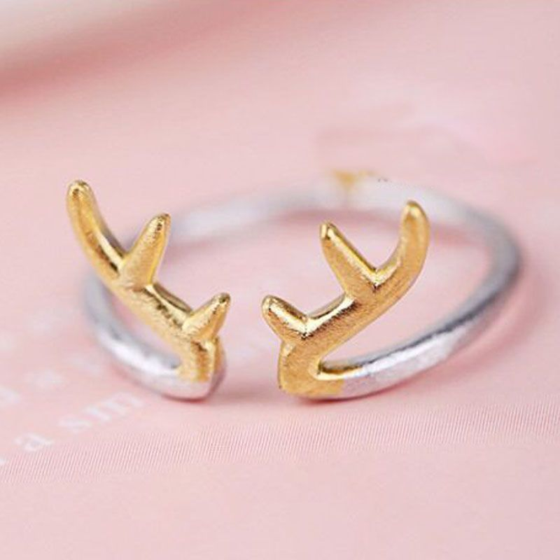 Christmas Gifts!2016 New Lovely Silver Plated Antlers Rabbit Ears ...