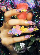 crazy 3d nail art