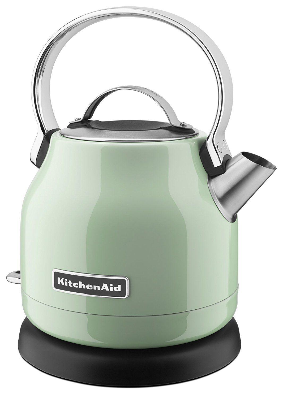 KitchenAid KEK1222PT 1.25-Liter Electric Kettle - Pistachio: http ...