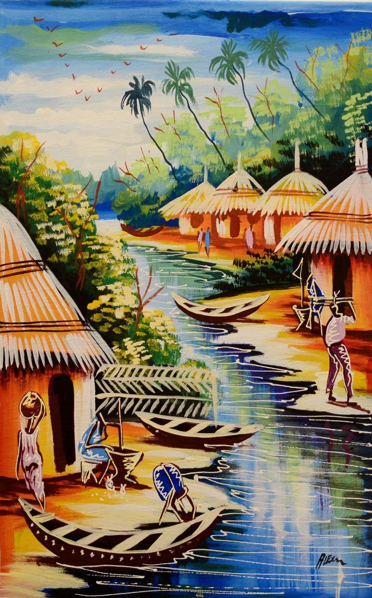 Pin on African art
