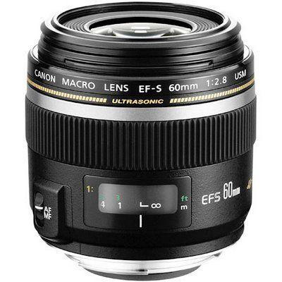 Canon Ef S 60mm F 2 8 Compact Macro Autofocus Lens Objectif Macro Canon Objectif Macro Gres