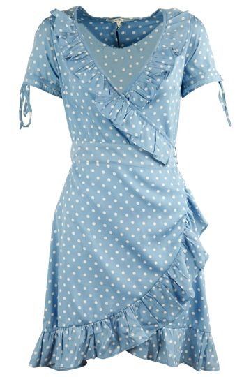 edff5bdac0c0 Uttam Boutique Sara Spot Print Wrap Dress | fashion | Dresses, Wrap ...