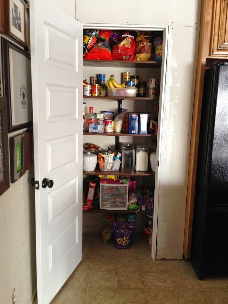 Building Kitchen Pantry on a Budget Kitchen pantries Pantry and