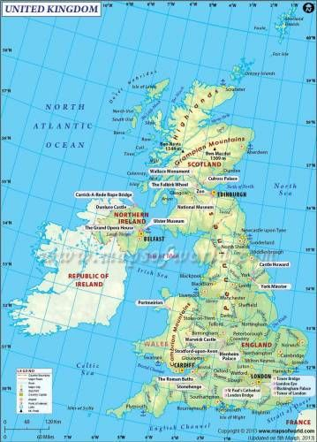 Nice uk map holidaymapq pinterest city maps england uk and this is how uk map will look without scotland gumiabroncs Images