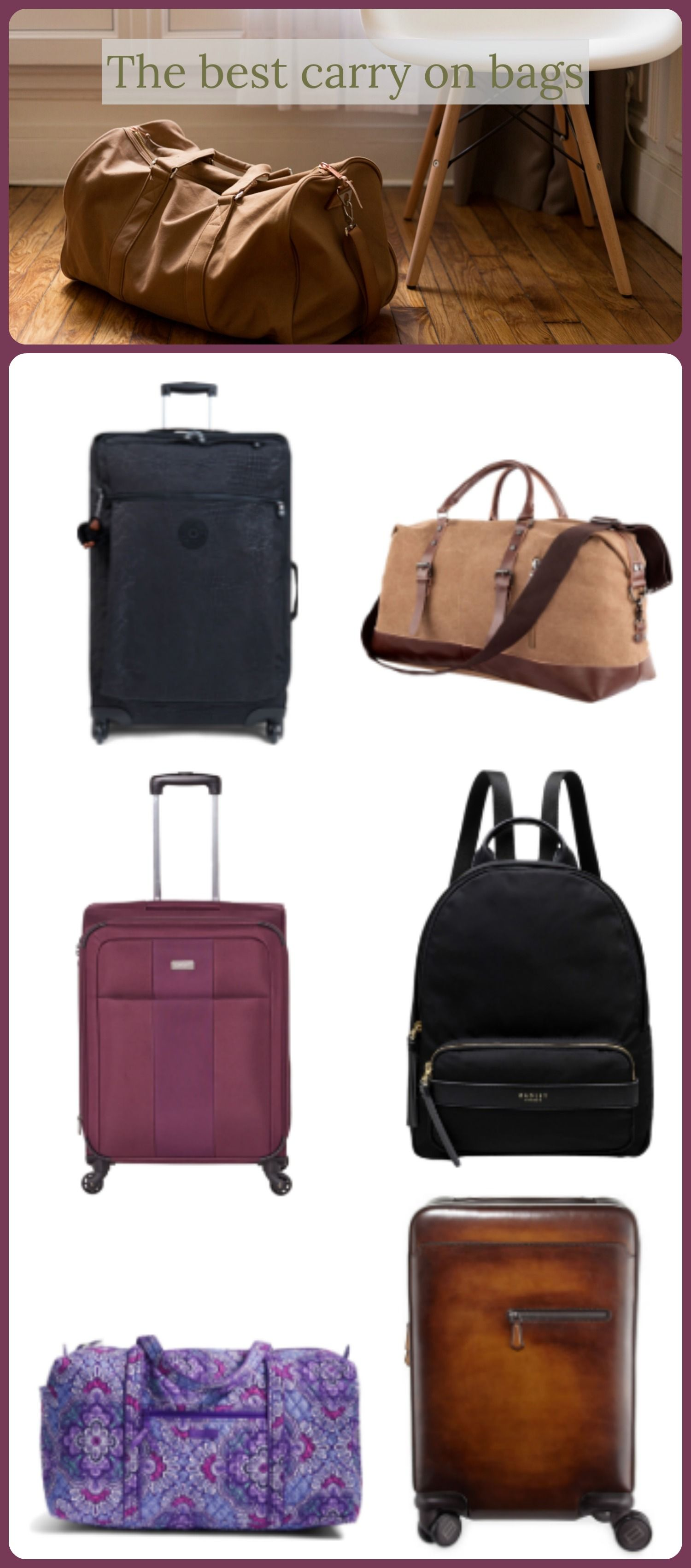 f54214d13153b3 The Best Carry On Luggage For Your Next Trip