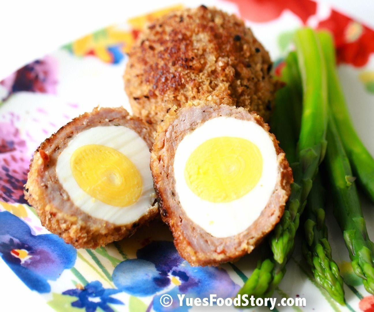 Baked/Fried/Pan Fried Scotch Egg #scotcheggs Baked/Fried/Pan Fried Scotch Egg #scotcheggs