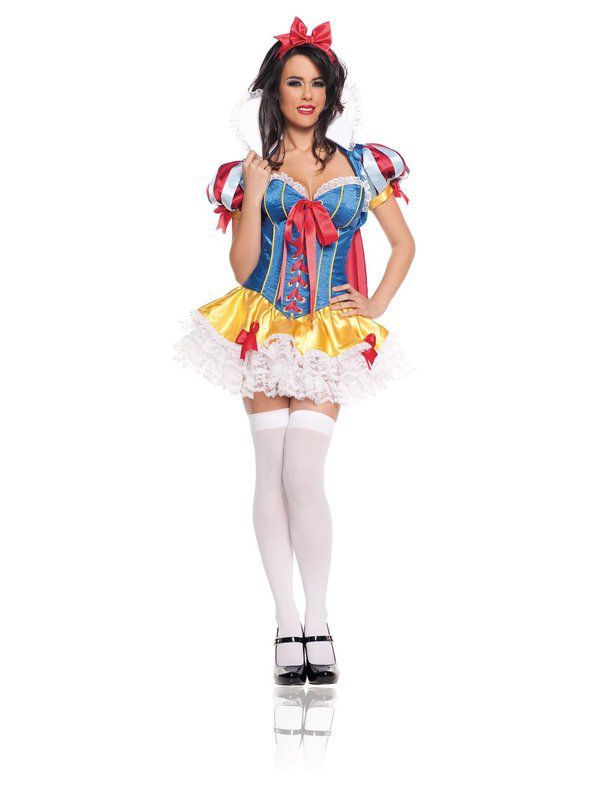 Check out Deluxe Sexy Snow White Costume - Sexy Fairytale Costumes from Costume Super Centre  sc 1 st  Pinterest & Deluxe Womens Sexy Snow White Costume | Sexy snow white costume ...