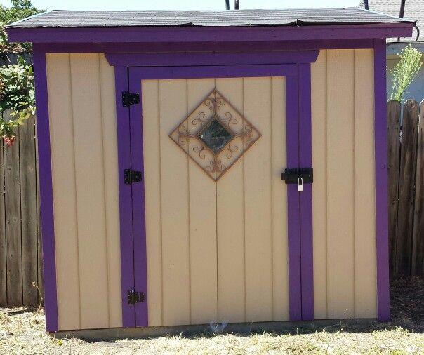 My backyard shed