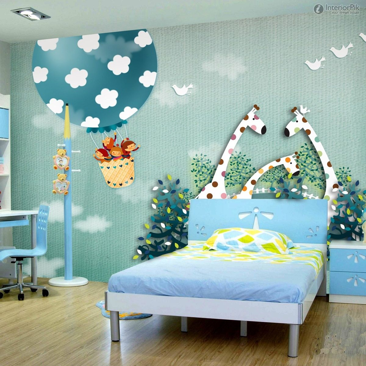 Menentukan Motif Wallpaper Untuk Kamar Anak Kamar Anak Ruangan Desain
