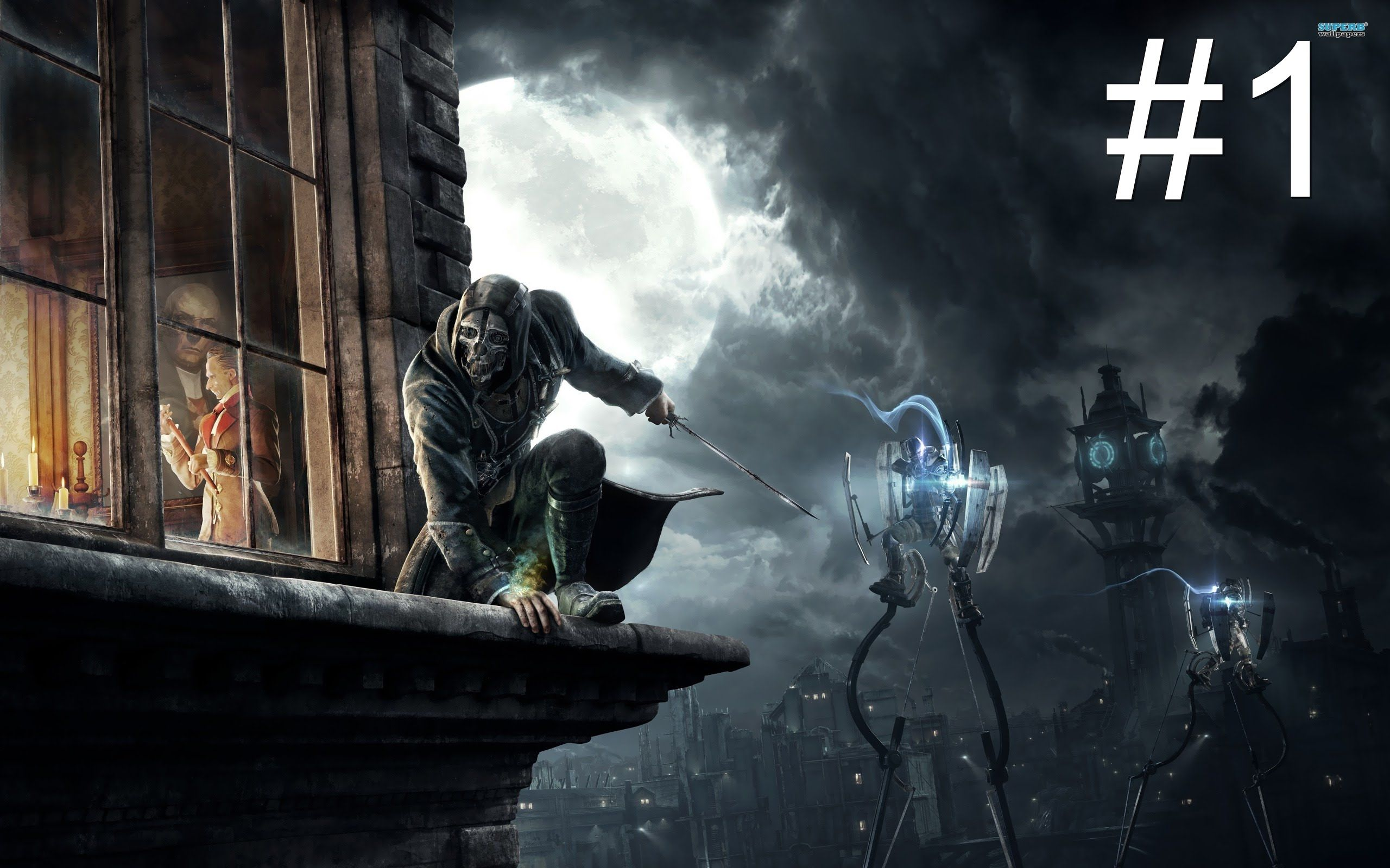 The Knife of Dunwall Dishonored DLC This Month Hardcore Gamer