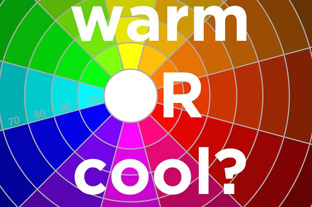 Are You More Warm Colors Or Cool Colors Color Fun Quizzes