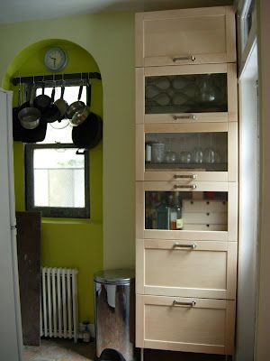 Ikea Hackers Freestanding Kitchen Storage From Wall Cabinets Freestanding Kitchen Ikea Kitchen Storage Cabinets Freestanding Kitchen Storage