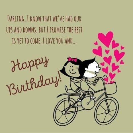 100 Unique Happy Birthday My Love Quotes Romantic Wishes Quotes