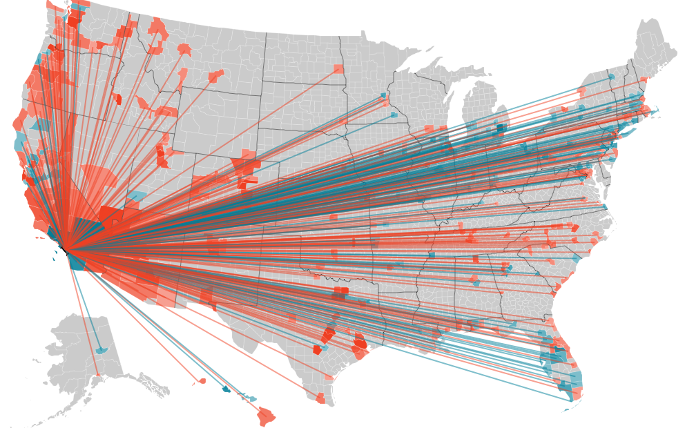 American Migration [Interactive Map | Infographics, Infographic and ...
