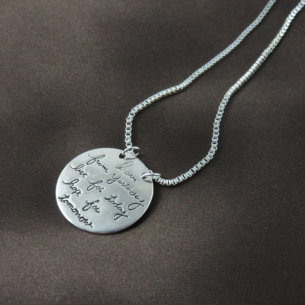 Silver plated live life love words pendant necklace wholesale price silver plated live life love words pendant necklace wholesale price with small quantity contact mozeypictures Gallery