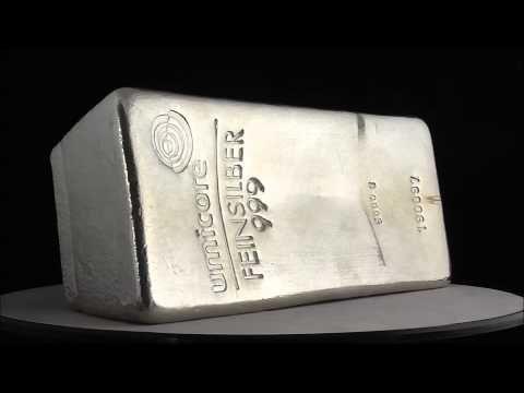Umicore 5000g Gram Silver Bar 999 0
