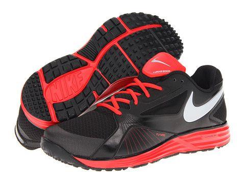 separation shoes 64d2b 75222 Nike Lunar Edge 15 Black Pimento Wolf Grey - Zappos.com Free Shipping BOTH  Ways