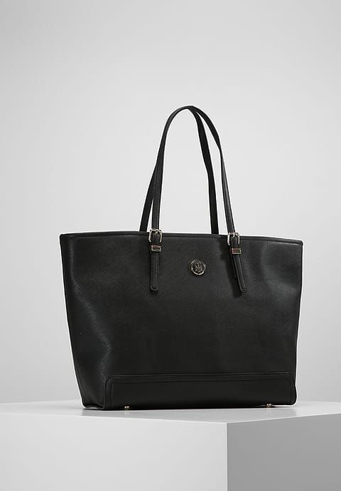 48a9471c7c5 Tommy Hilfiger Tote bag - black for £144.99 (30/08/17) with free delivery  at Zalando