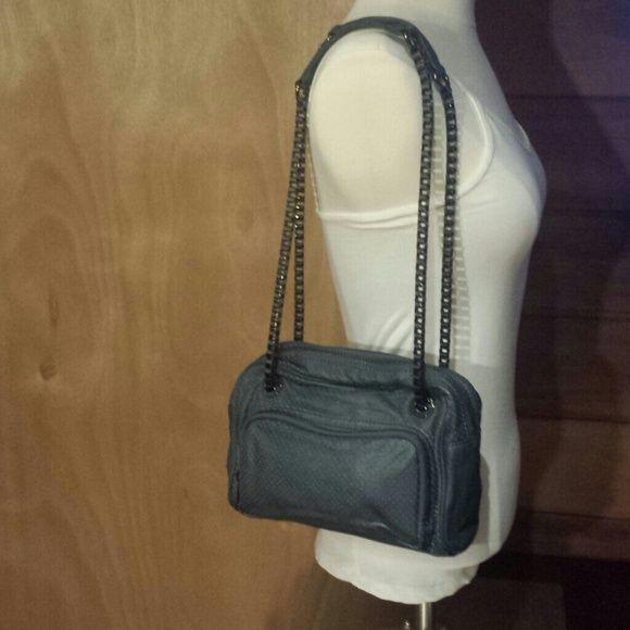 22b60e5c1d6 Leather Armani Exchange chain strap handbag Beautiful Armani Exchange two  pocket chain strap handbag. Can
