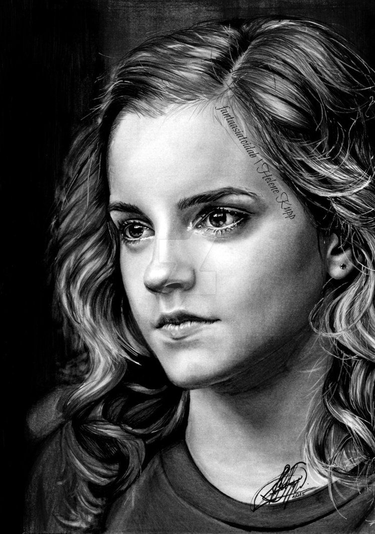 Hermione granger by fantaasiatoidab magical art harry potter zeichnungen zeichnungen harry - Harry potter dessin ...
